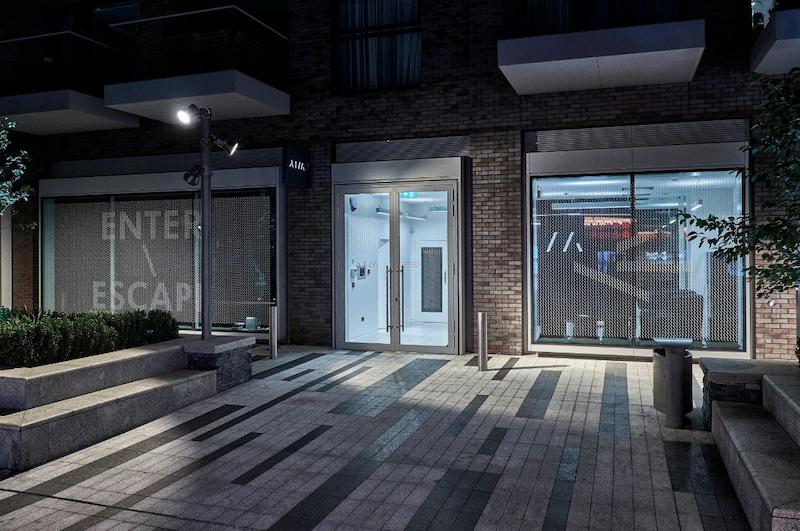 AIM Escape Rooms London Exterior